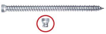 Kozijnschroeven Top Maxx voor Kunstof-, aluminium- en houten kozijnen 7,5 x 42MM tot 402MM