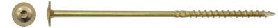 Tellerkopschroeven Ø8.0 x 260MM geel verzinkt