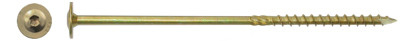 Tellerkopschroeven Ø10.0 x 400MM geel verzinkt